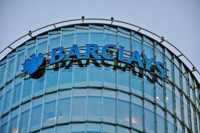 Barclays' stock price