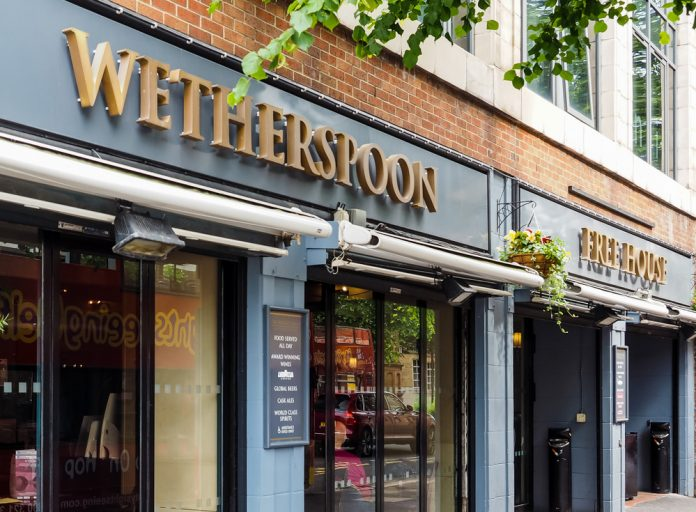 J D Wetherspoon Q2 sales rise