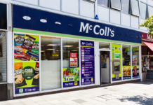 McColl's swings to loss, shares crash