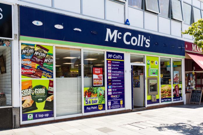 McColl's swings to loss, shares crash