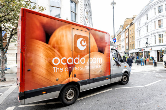 Ocado shares rise but losses widen
