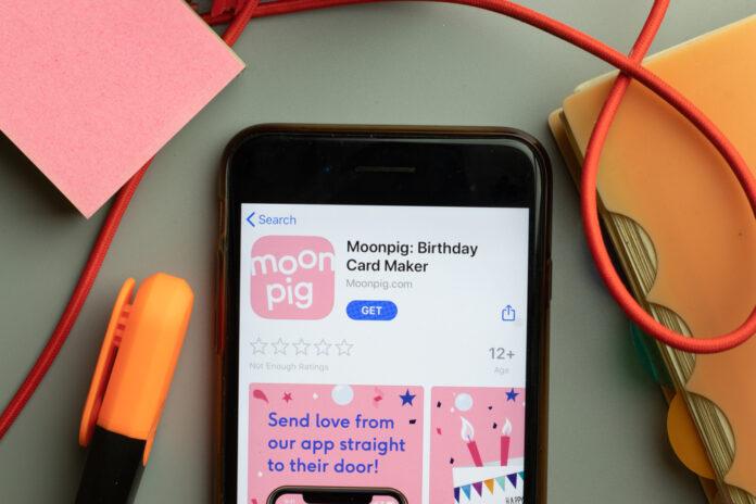 moonpig app